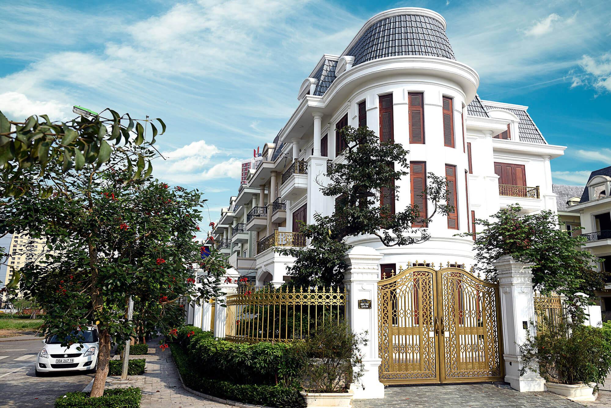 Giá bán biệt thự An Khang dao động từ 12 - 35 tỷ