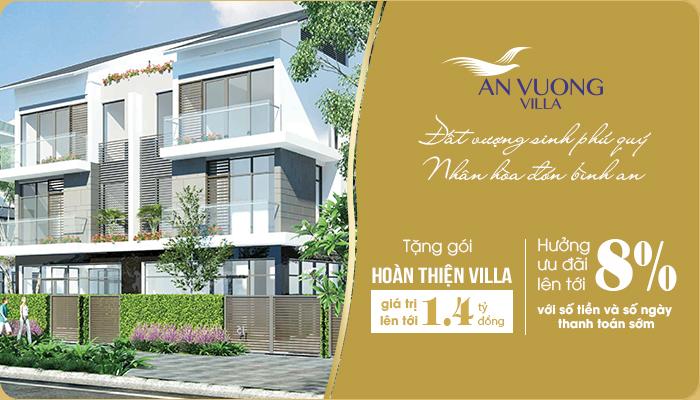 Chính sách bán hàng dự án An Vượng Villa