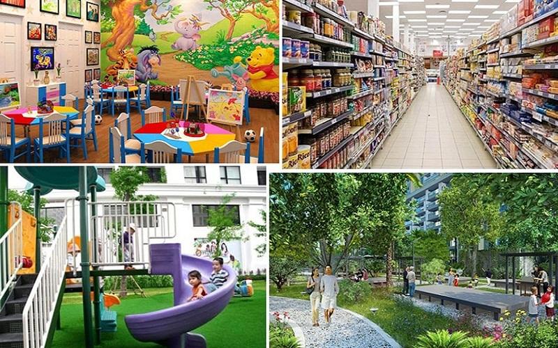 Tiện ích bên trong dự án khu đô thị mới Thống Nhất