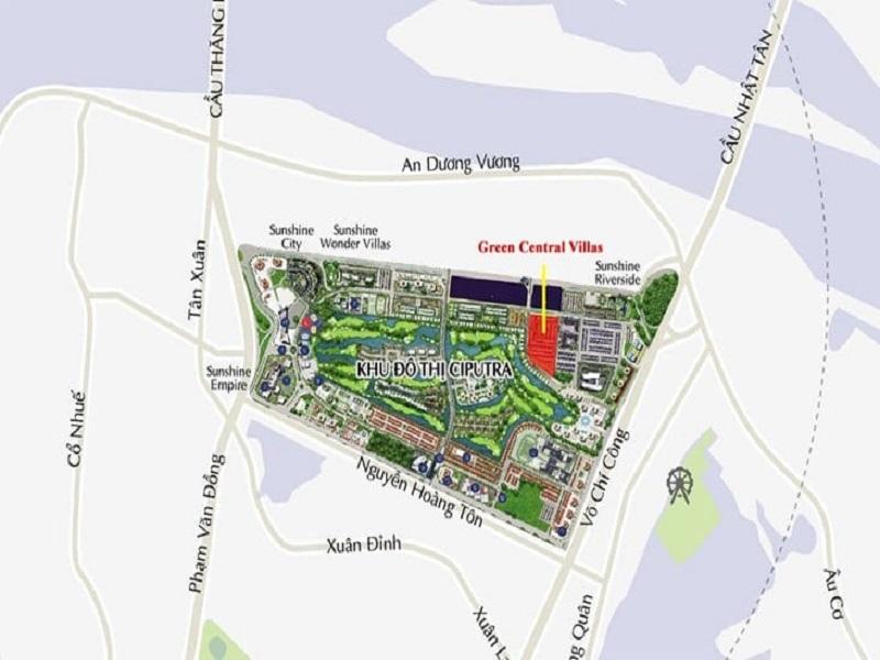 biệt thự The Lotus Center Hà Nội