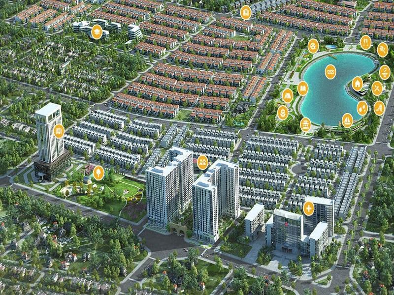 khu biệt thự An Vượng Villas Hà Nội